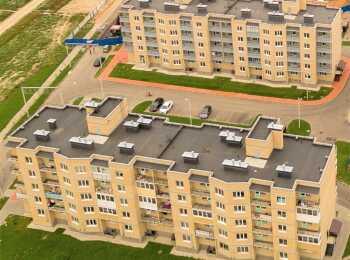 Два пятиэтажных жилых дома